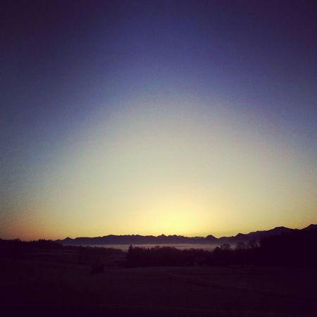 Sunset Sunsetting Skylining
