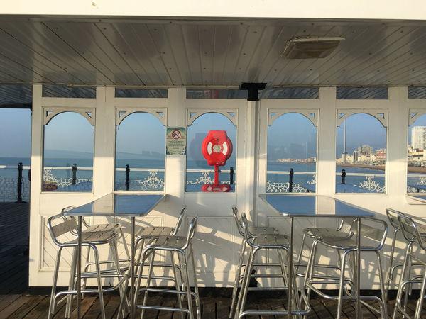 Brighton Pier Life Ring Table