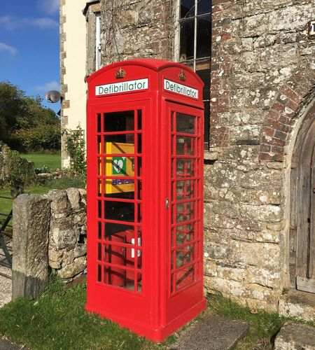 Walking Around Taking Photos Funny What You See Sometimes New Uses For Old Things Defibrillator Phonebox