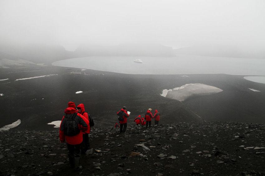 Trekking through some Antarctic terrain! Antarctica Antarctic Landscape Landscape_photography Landscape_Collection Landscapes Icewatch Hiking Hikingadventures Hiking Trail Hiking❤ Mountain Hiking Hiking Adventures Hiking! Hikingtrail
