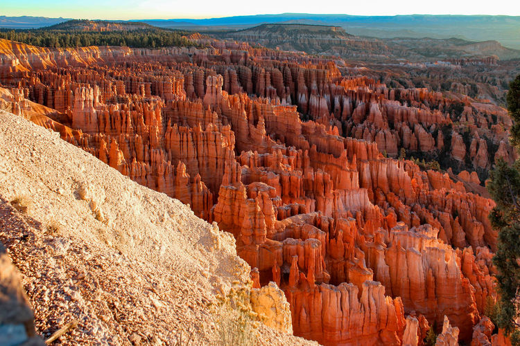 Bryce Canyon Rock Formation Travel Destinations Travel Rock - Object Rock Scenics - Nature Geology Non-urban Scene Solid Tranquil Scene Tranquility Physical Geography Beauty In Nature Day Landscape