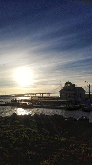 City Water Sea Beach Cityscape Sunset Sky Architecture Built Structure