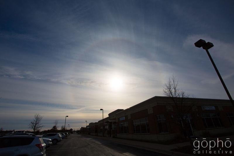 Sun Dog Sun Dogs In The Sky Winter Cloud - Sky Clouds Day Outdoors Sky