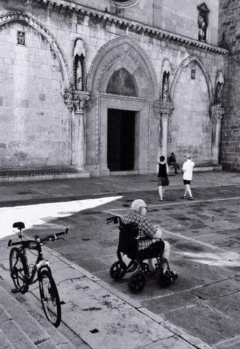Streetphoto_bw Walking Around The City  Black & White The Architect - 2015 EyeEm Awards The Street Photographer - 2015 EyeEm Awards Titov Trg Koper