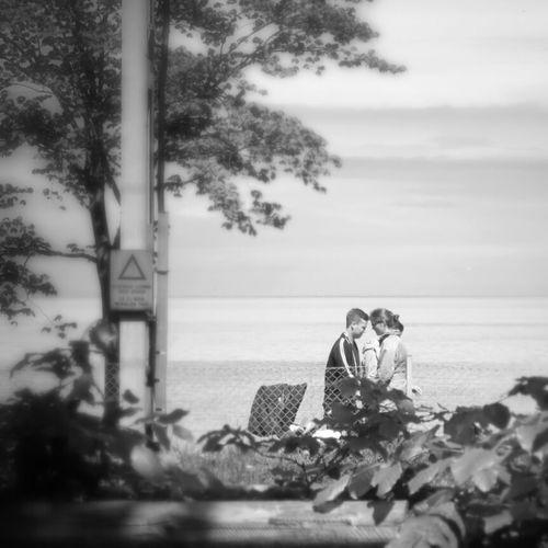 People Watching Streetphotography Lakeshore Colliding