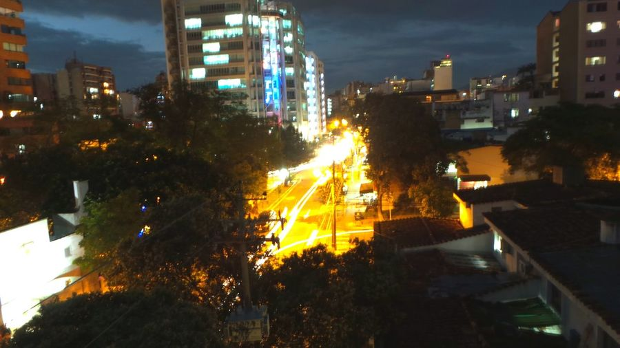 light trace Nightphotography Night Lights Santander-Colombia Urban Landscape