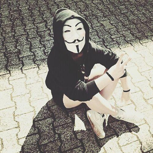 Livin' 4 freedom Anonymous Face Mask School ✌ Mottowoche