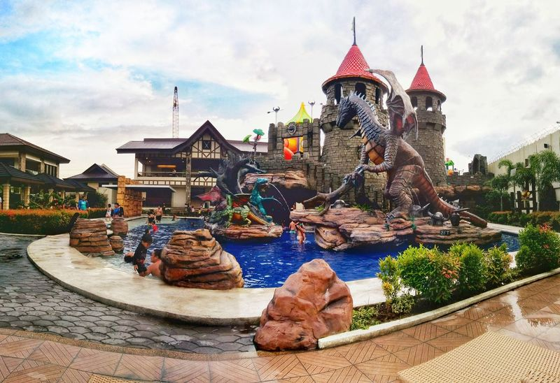 Kiddie Pool 😄 Architecture Outdoors Eyeem Philippines EyeEm Vision EyeEmNewHerе Adventure Sunlight, Shades And Shadows Kiddiepool Dragons