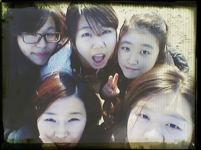 In Busan with Bestfriends ^-^ Cheese! CND Mona