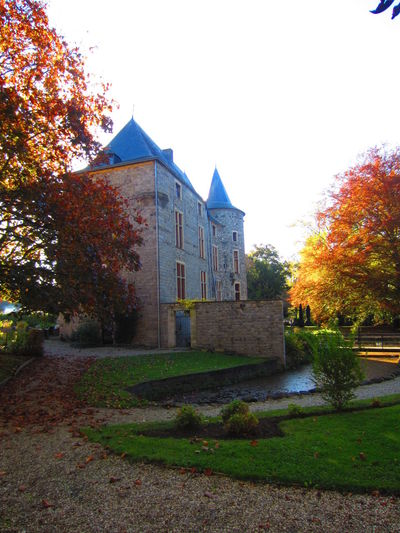 Castle Of Wittem Buildings Colours Of Autumn