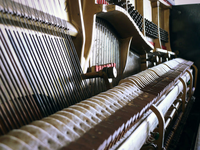 Piano Parts In Factory