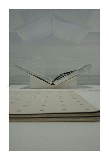 Minimalism Monochrome Exhibition Structures Books Litrature