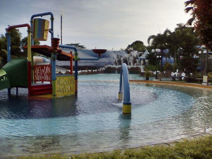 water Water Outdoors Day Swimming Pool People Water Slide Sky Flood