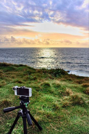 Getting the picture IPhone Photography Ireland Sunset