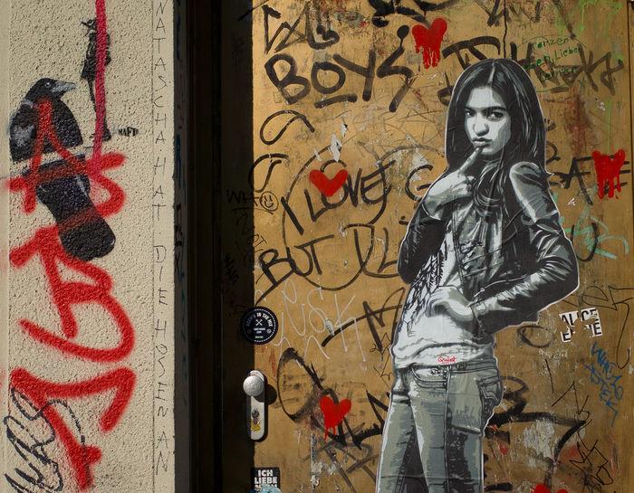 Art And Craft Artist City CutOut Cutouts Day Graffiti Painted Image Street Art Urbanarts