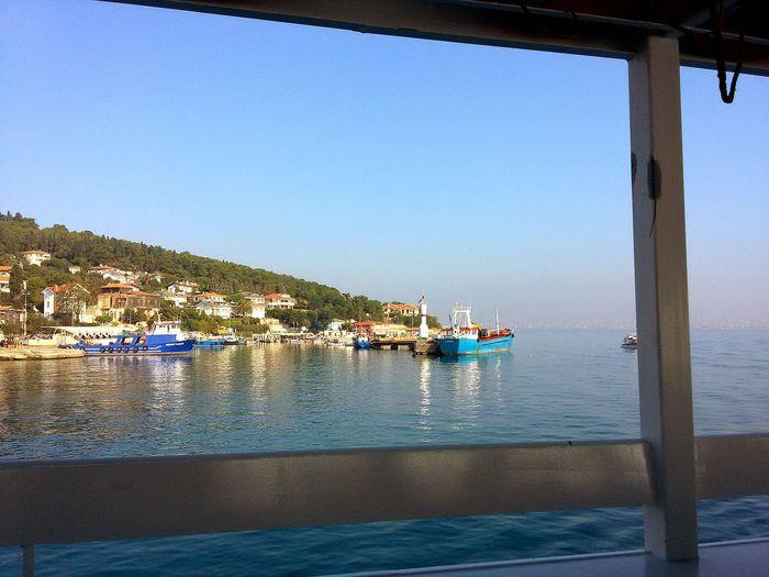 Turkey Istanbul Hebeliada Sea And Sky