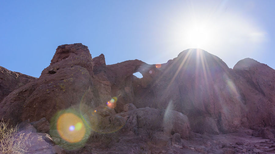 Rock Nature No People Day Tranquility Beauty In Nature Phoenix Desert Landscape Sunny