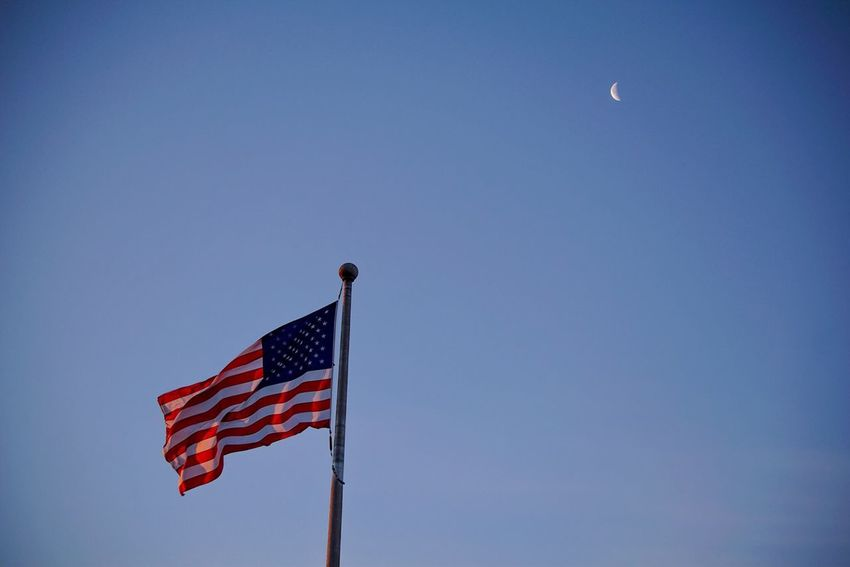 A D.C. good morning to all. American Flag Moon Sony A6000