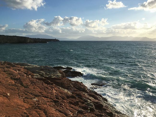 Sea And Sky Seascape Seaside Panorama Nature Italia Italy Landscape Landscape_Collection Landscape_photography Water Light And Shadows Clouds And Sky Summertime Summer Sunset Sunset_collection Eyeemphoto Hidden Gems  Sicilia Sicily On The Way Sea Travel Traveling