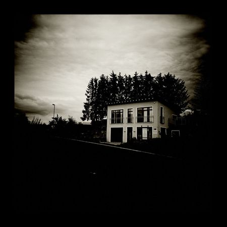 Black & White Monochrome Digital Holga