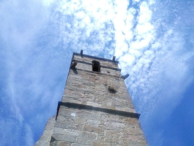 Galicia Architecture_collection Tower Ancient Architecture Iglesia Skyviewers Urban Geometry Old Church Rural Architecture PhonePhotography