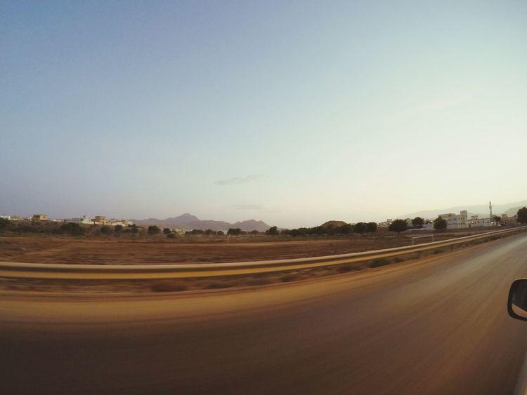 Driving Sunset Speeding