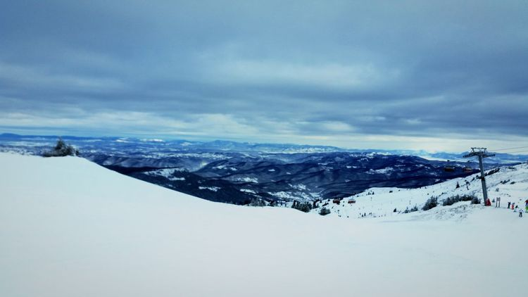 How's The Weather Today? Above The Clouds Snow ❄ Mountain Peak Snowboarding Enjoying Life in Jahorina