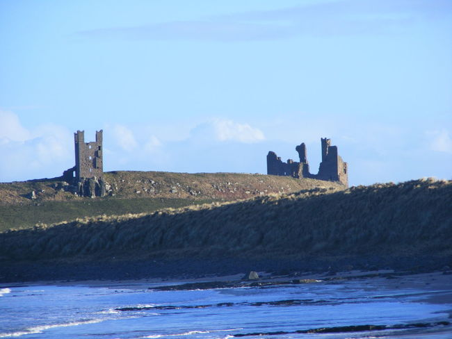 Beach Beach Photography Beauty In Nature Castle Castle Ruin Castle Ruins Castles Dunstanburgh Dunstanburgh Castle Dunstanburghcastle Historical Architecture Historical Buildings Nature North East Coast Northumberland Coastline Northumberland History Sand And Sea Sea Sea And Sky Sky Water