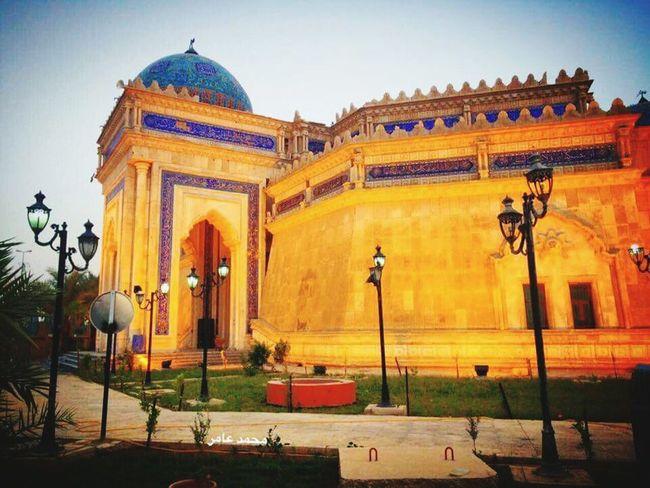 الجامع الكبير وسط الرمادي مركز محافظة الانبار