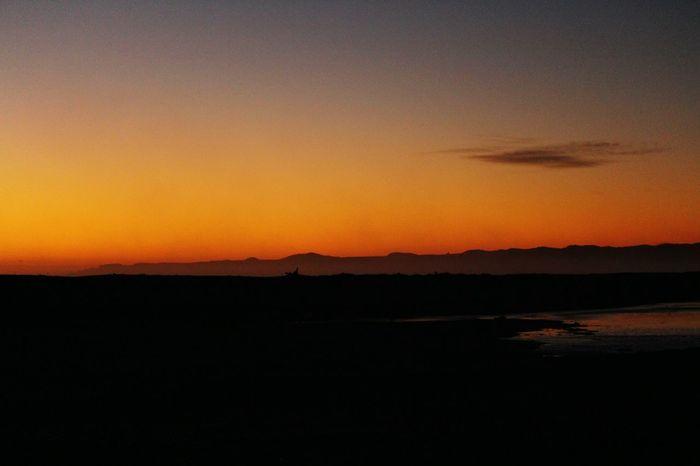 Awatoto Dawn Brigade! Sunset Landscape Silhouette Beauty In Nature