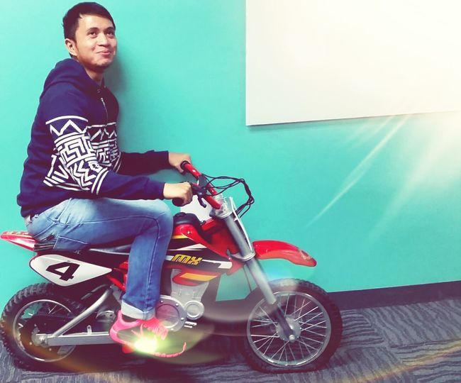 Let me take u for a ride.