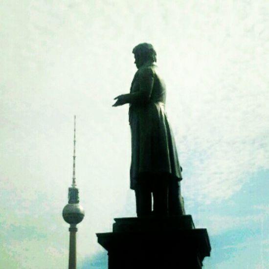 Berlin Schinkelplatz Beuth Tvtower