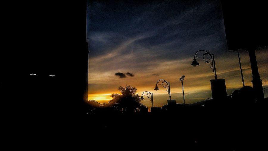 Sunset Cloud - Sky No People Nature Outdoors