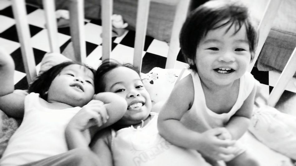 Siblings SiblingsLove❤ Family Family With Two Children Boys Daughter Smiling Toddler  Love Moments Happiness Childhood