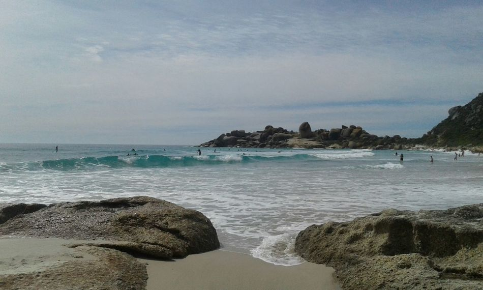 Llandudno Beach, Cape Town. Sea Seascape Boulders Beach Horizon Over Water Tranquil Scene Scenics Beauty In Nature Nature Cape Town South Africa Is Amazing South Africa Travel Destinations Surfers