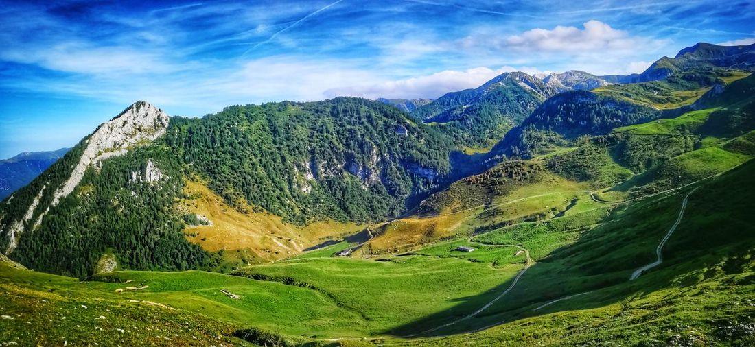 ...a un passo dal paradiso Rifugio Balma Prato Nevoso Tree Rocky Mountains Mountain Peak