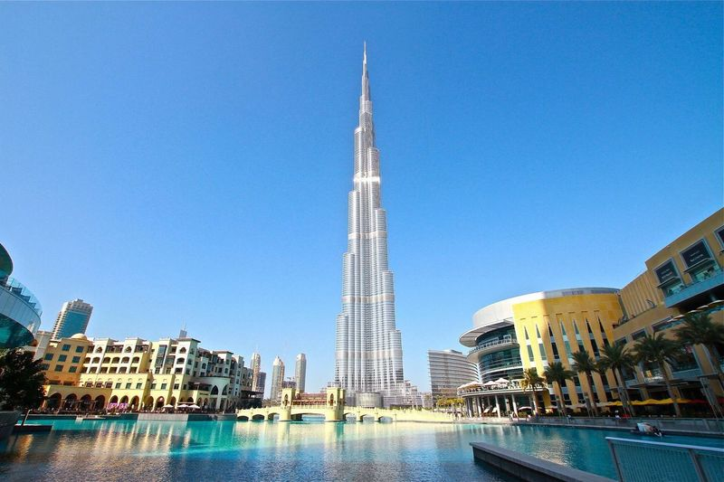 Fine Art Photography Burj Khalifa Dubai Holliday Momments Building Travel Battle Of The Cities Traveller ILoveMyself Architecture - in Dubai❤