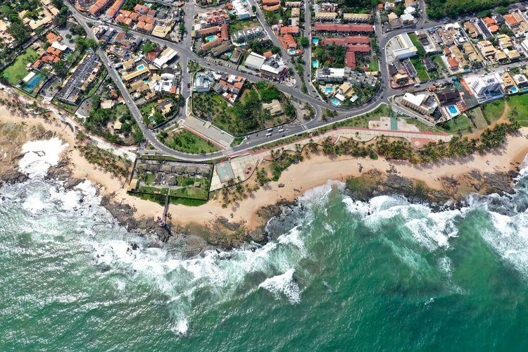 Famous coastal city in brazil. salvador bahia. carnival city