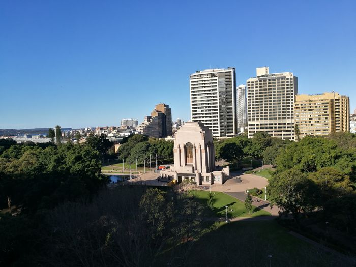 Hyde Park Sydney Cityscape Park Travel Destinations