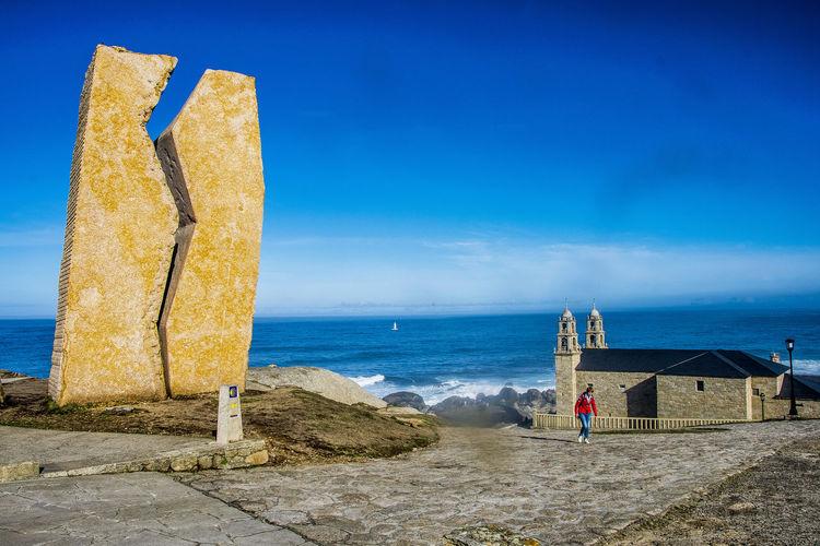 Muxia, Spain Camino CaminodeSantiago Muxía Panoramic SPAIN Camino De Santiago Coruña Ocean Pilgrimage