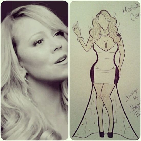 Mariah Carey Design... @mariahcarey @nickcannon @theellenshow @edglavin @keltieknight @theinsider MariahCarey Yourmineeternal Yourmine Mariahcareythirsty lambily lambs mariahcareylambs lambily celebritystylist celebstylist fashionillustration fashion f4f fashionillustrator followforfollow follow4follow instamood igdaily instagood instadaily illustration newsingle art artist blackpumps beautiful amazing