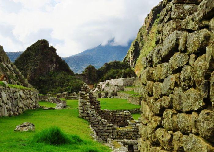 Machu Picchu Peru Inca Ruins Travel Photography Architectural Elements Mountains