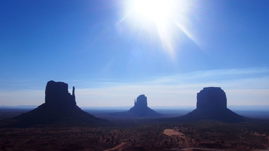 Monument Valley Utah No People Landscape Outdoors Beauty In Nature Nature