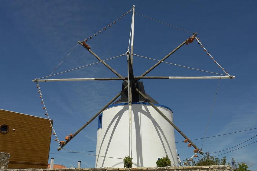 Blue Clear Sky Day EyeEm Best Shots Low Angle View No People Outdoors Sky Sony DSC-R1 Windmill