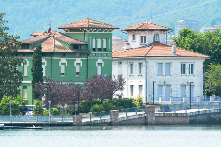 Liberty Villas - Porto Ceresio, Varese, Italy. Architecture Building Exterior Built Structure Ceresio City Day Italia Italy Lake Lombardia Lombardy No People Outdoors Porto Ceresio Residential Building Town Varese