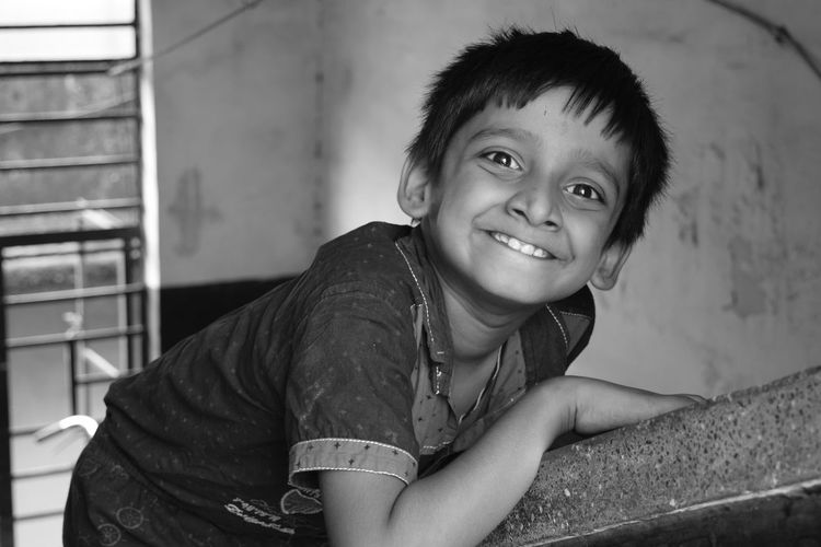 Boys Childhood Close-up Day Elementary Age Happiness Indoors  Looking At Camera One Person Portrait Real People Smiling