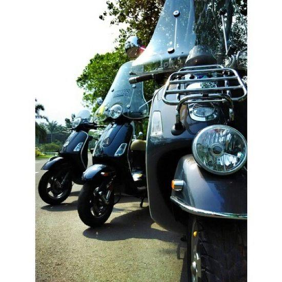 Bopscoot Vespalover Modernvespa Largeframe largeengine sunday ride bogor Instapic snapseed PhotoGrid cc : @bopscoot @aditvitto @ferdysatari