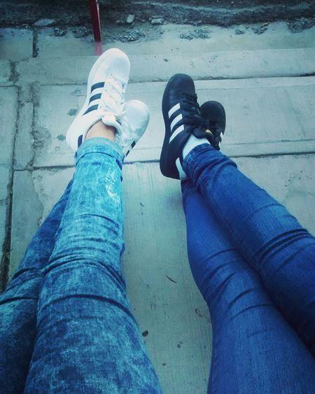 Adidas Superstar Love Sisters ♡ ✌😘