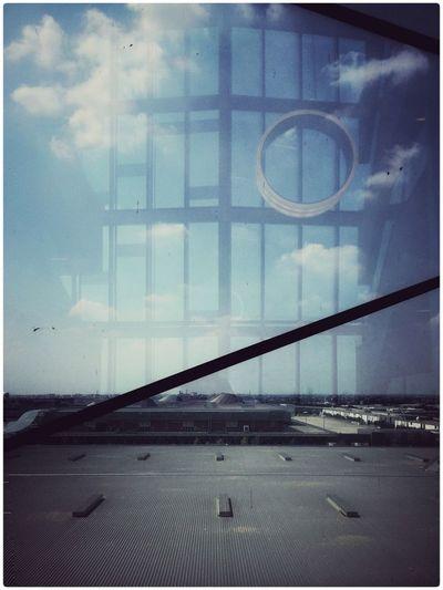 Dreaming Oniric Clouds Glass Building Milano Rhofieramilano Expo2015milano