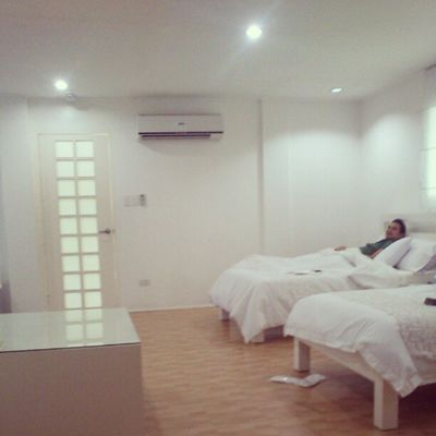 All white. Feels like were in a hospital. :)) Teamawayday Teamtransformationday